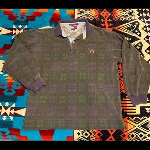 Vintage Tommy Hilfiger polo style long sleeve